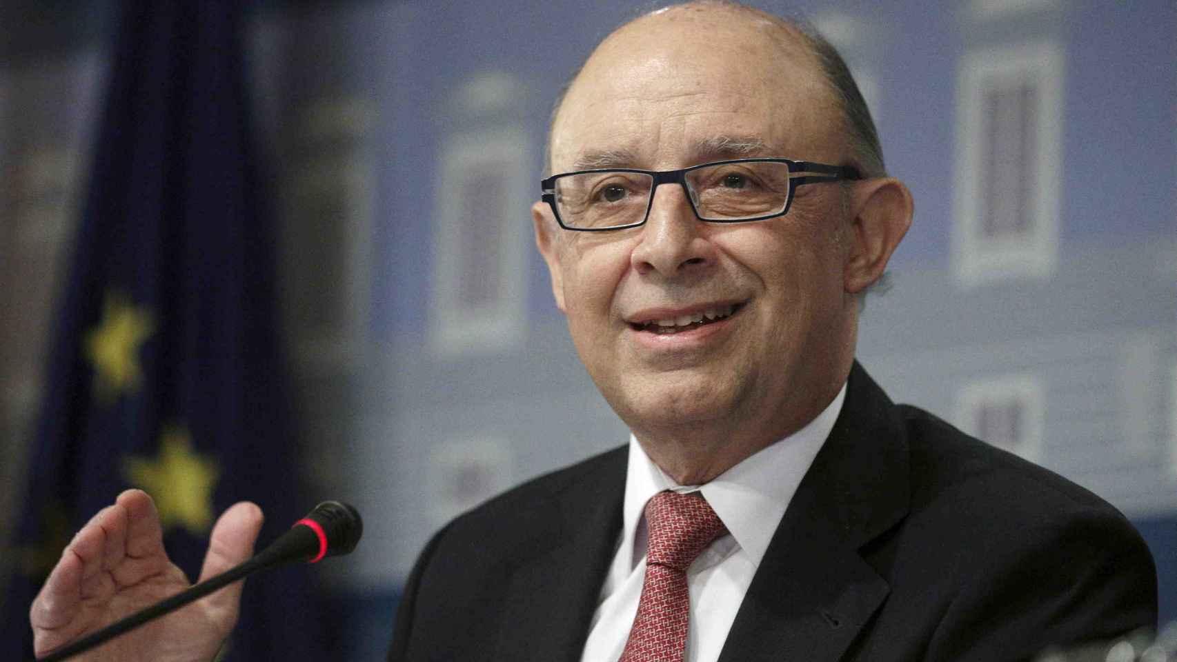 El ministro de Hacienda en funciones, Cristóbal Montoro