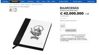 El cuaderno de Baarcenäs.