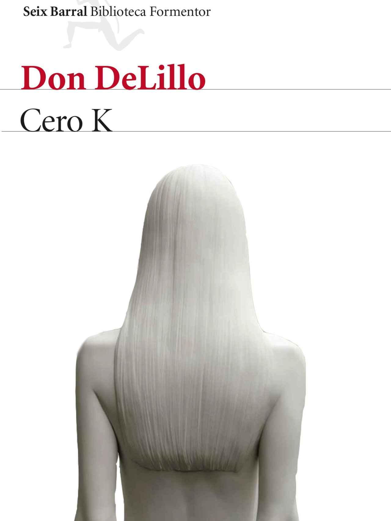Portada de Cero K, de Don DeLillo.