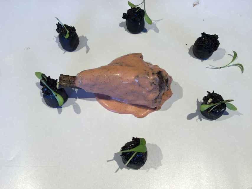 El cordero de lechal tandoori