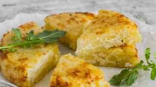 Tortilla de patatas vegana: es posible