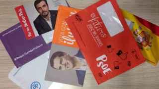 Propaganda electoral de las pasadas elecciones generales.
