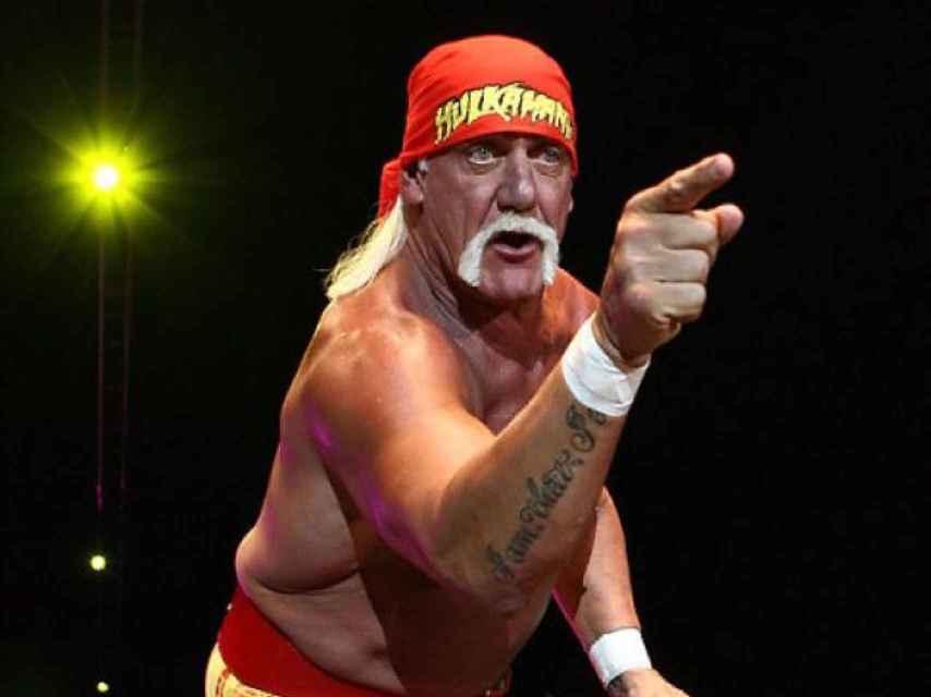 El actor Hulk Hogan