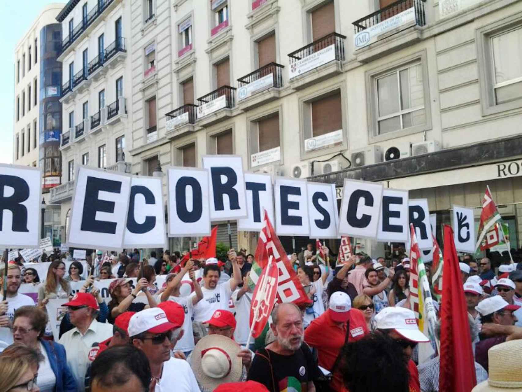 Concentración de Recortes Cero.