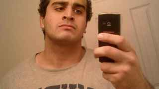 Undated photo from a social media account of Omar Mateen