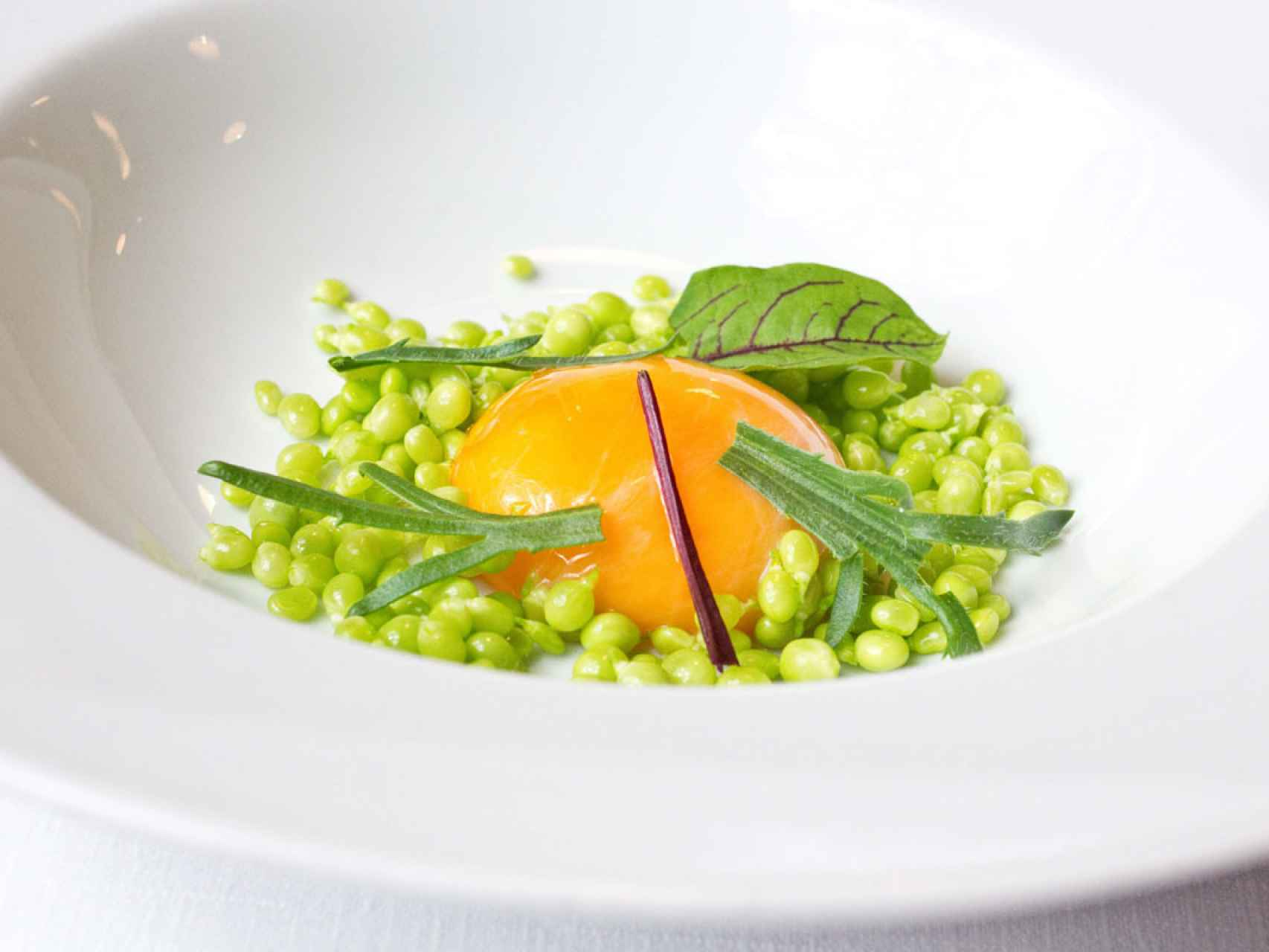 Uno de los platos de Marcano.