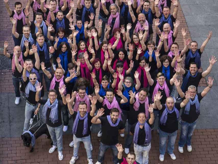 El primer coro LGTB de España.