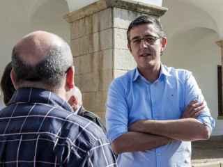 El exdiputado Eduardo Madina, en un acto reciente en Cáceres.