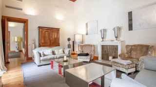 Salón principal del palacete vendido por Jaume Matas.