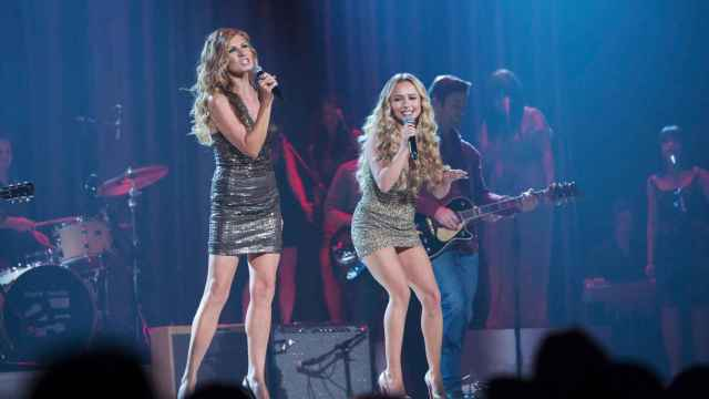 Las chicas de Nashville en plena actuación.