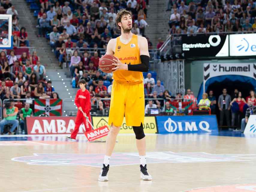 Ante Tomic, el jugador más valorado de los playoffs de la ACB.