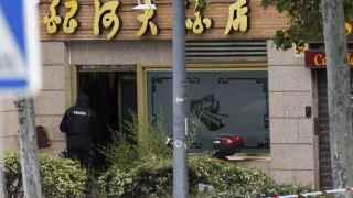 Un Policía se atrinchera en un restaurante chino en Alcobendas