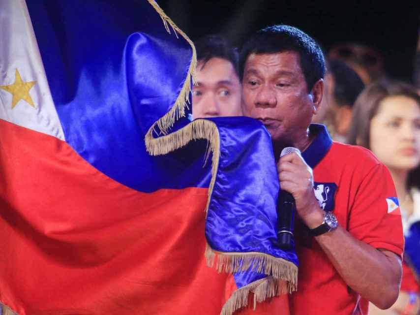 Duterte, presidente electo de Filipinas, ha sido comparado con Trump.