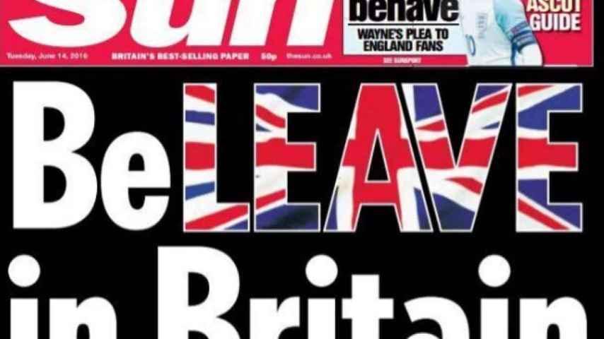 The Sun hace campaña por el 'brexit' usando el paro en España