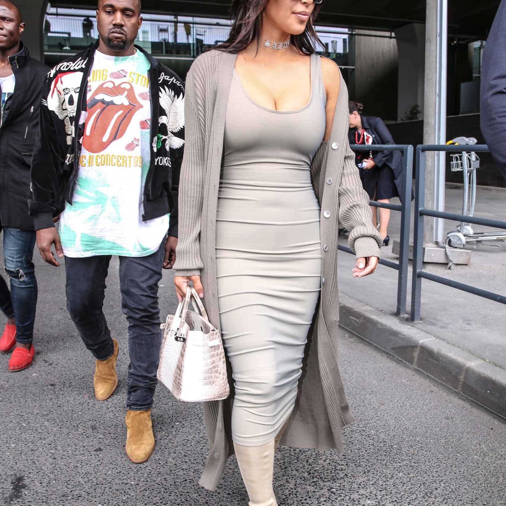 Kim está feliz con su nueva figura