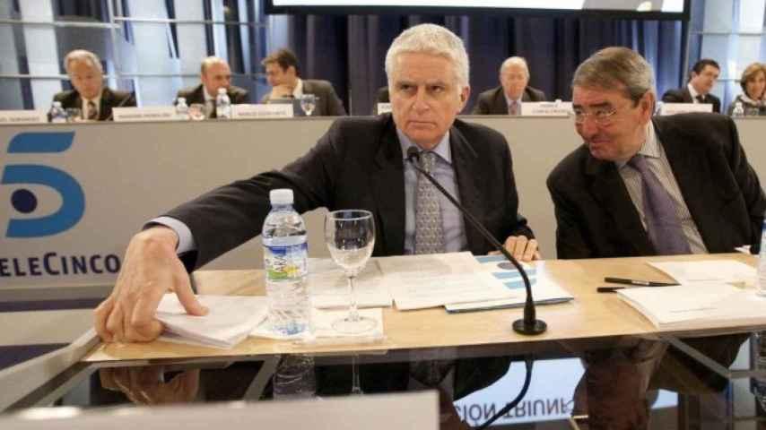 Paolo Vasile, consejero delegado de Mediaset, en una imagen de archivo.
