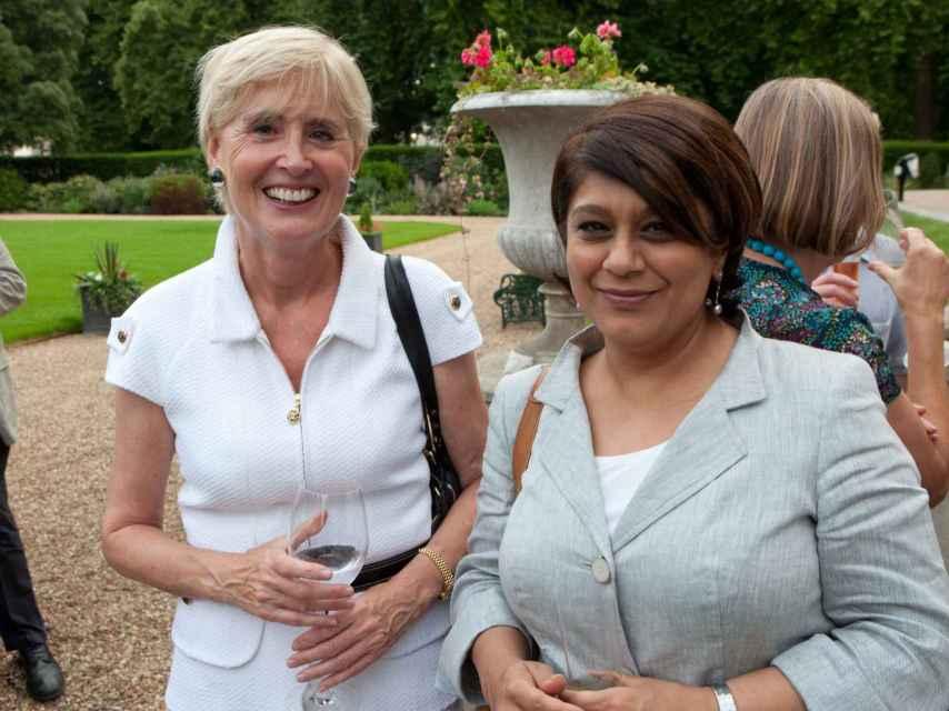 Una baronesa británica entra en la 'Corte' de Amancio Ortega en pleno 'brexit'.