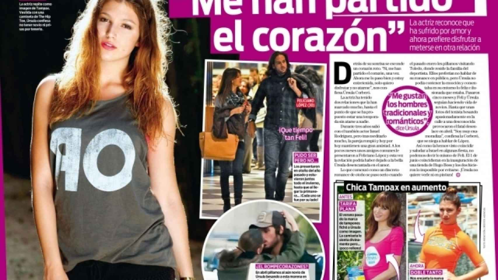 El tenista abandonó a la actriz tras cinco meses de noviazgo