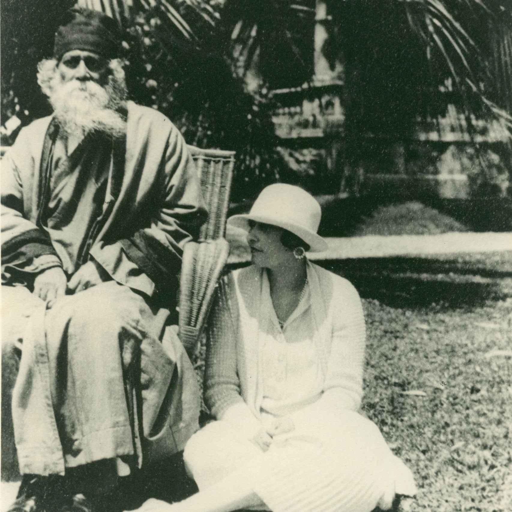 Victoria Ocampo y Tagore.