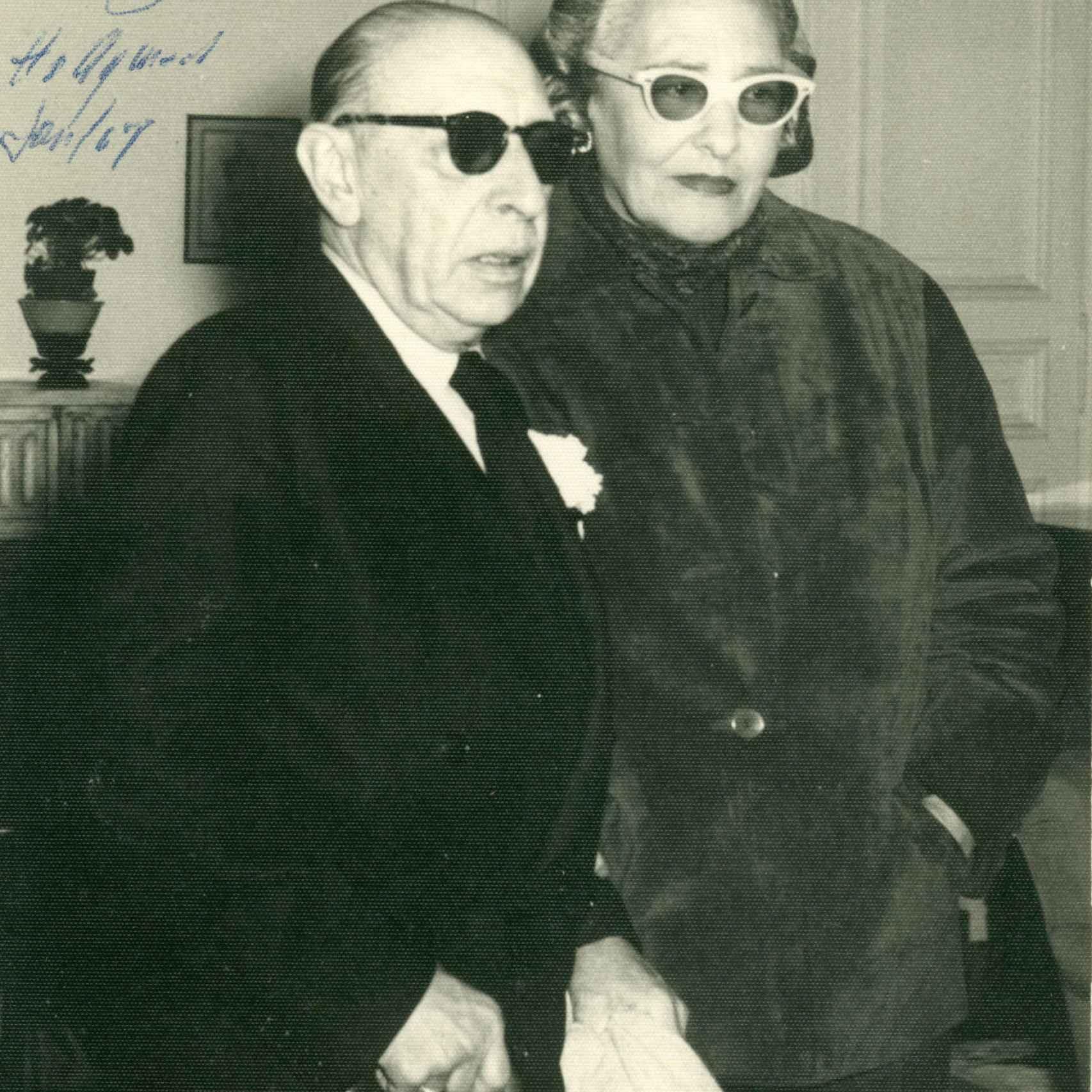 Victoria Ocampo y Stravinsky.