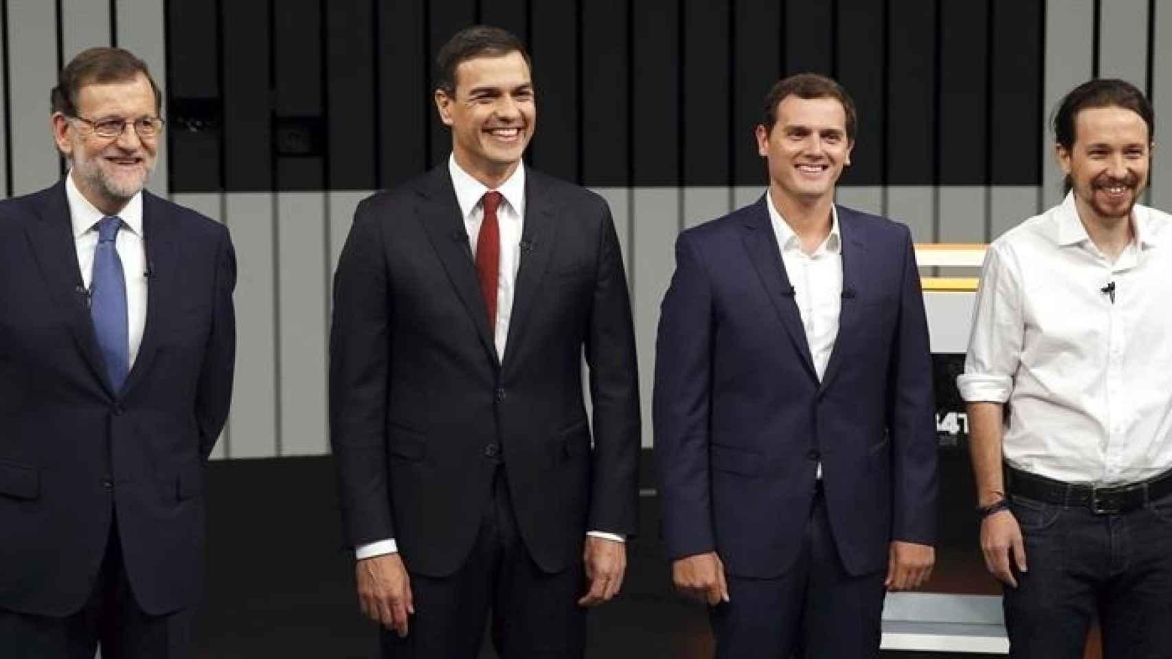 Debate a cuatro en televisión/Mariscal/EFE
