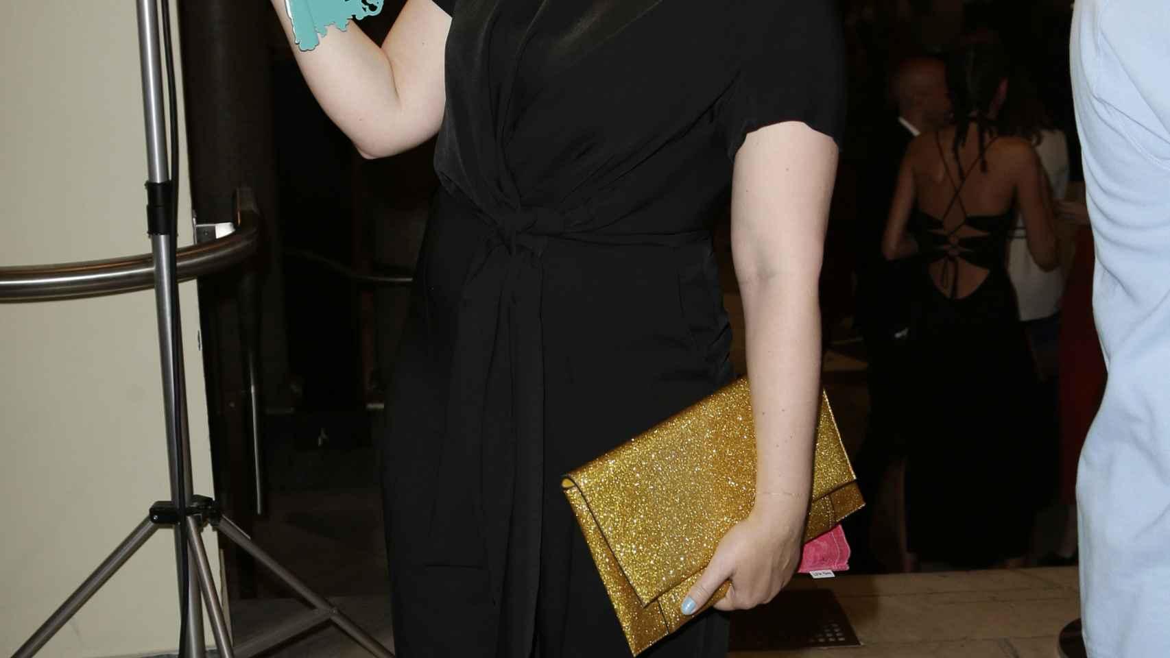 La presentadora Tania Llasera durante un acto de la publicación 'Harper's Bazaar' en Madrid