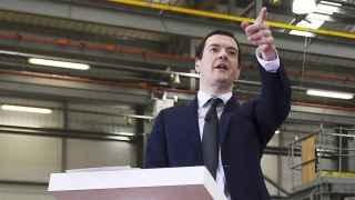 Osborne, ministro de Finanzas de Reino Unido.
