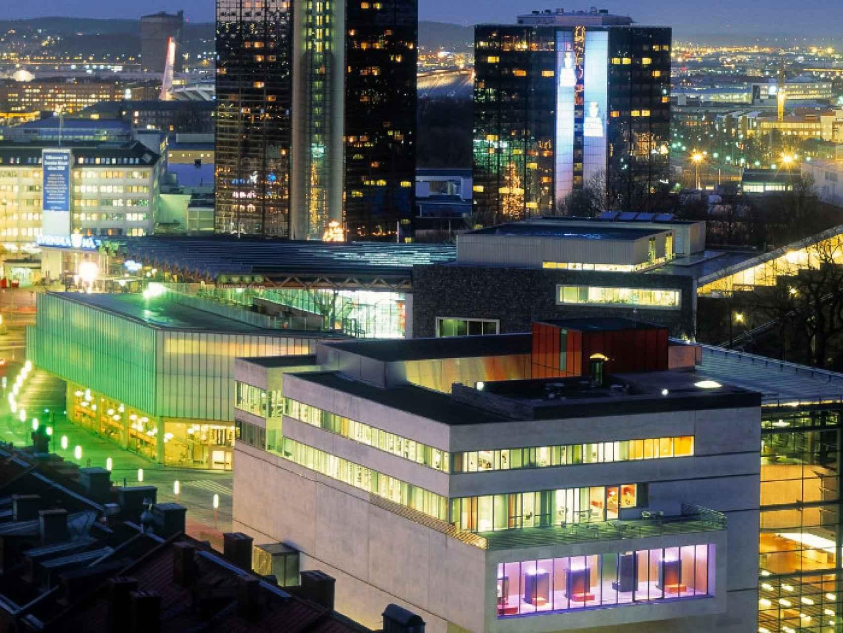 Vista de la ciudad de Gotemburgo.