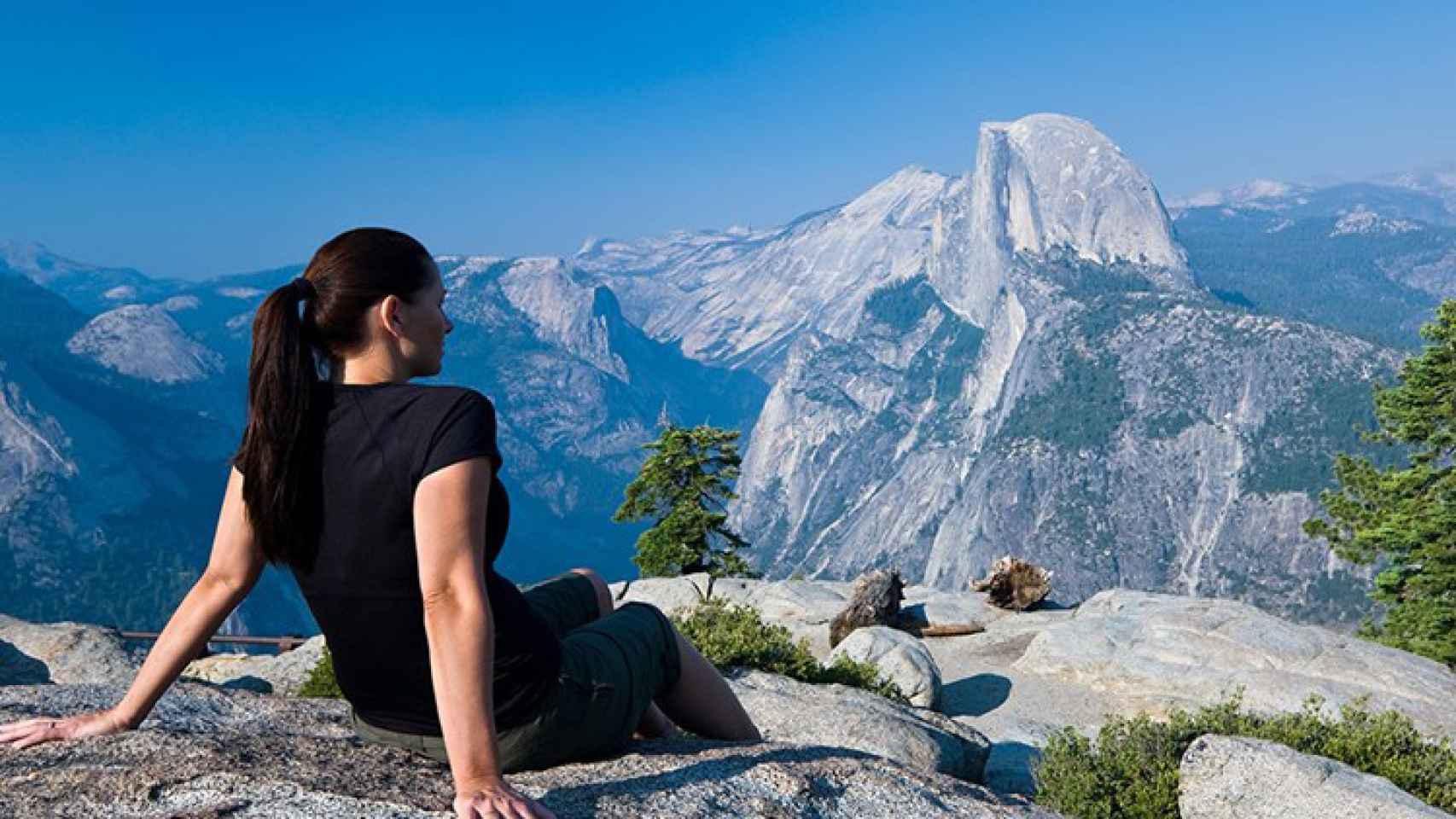 Una de las vistas que ofrece el parque de Yosemite.