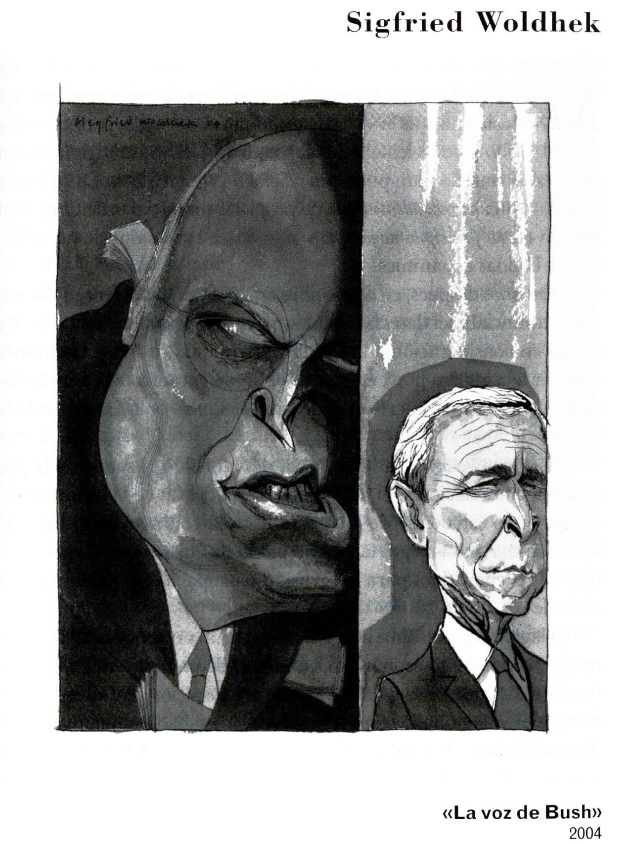 Una de las viñetas que aparecen en la recopilación histórica de Roberto Fandiño.