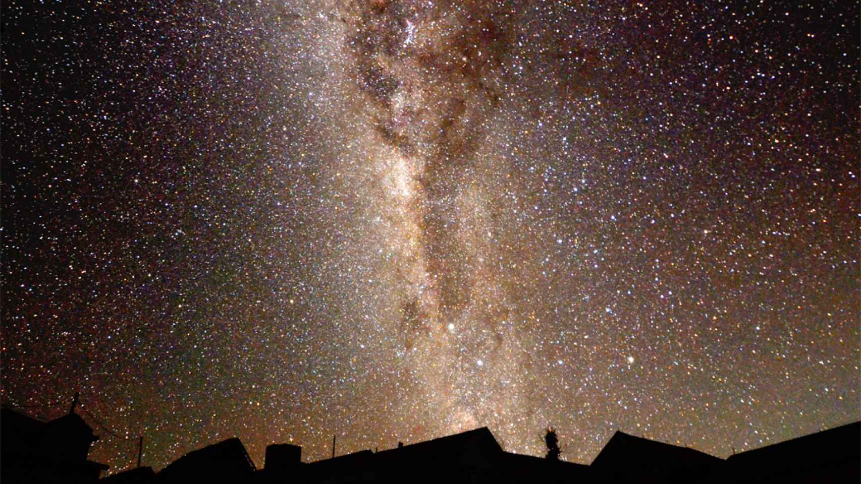 Las estrellas vistas desde Indonesia.