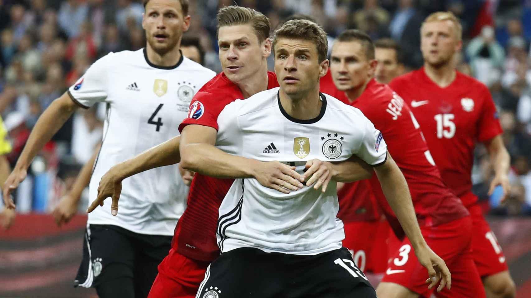 Alemania y Polonia empataron en Saint-Denis.