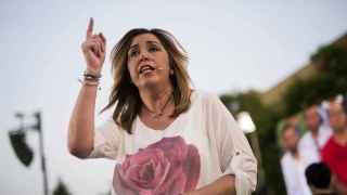 La secretaria general del PSOE en Andalucía, Susana Díaz.