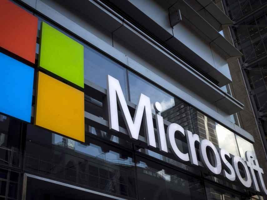Imagen de una sede de Microsoft.