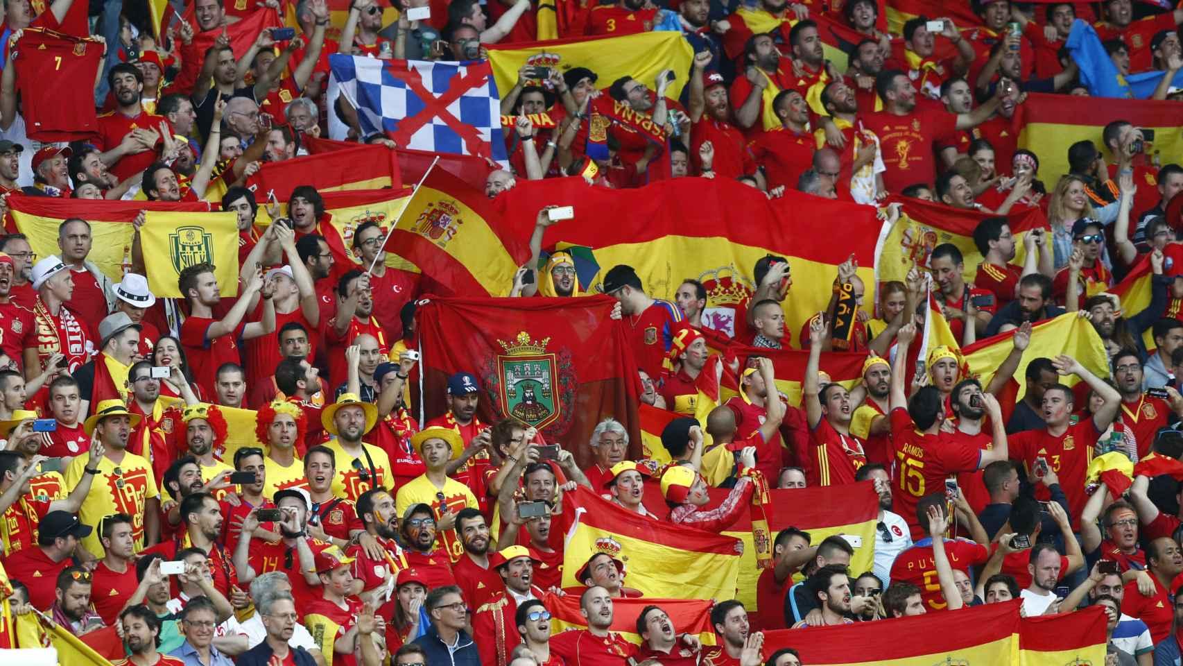 Las mejores imágenes del España - Turquía