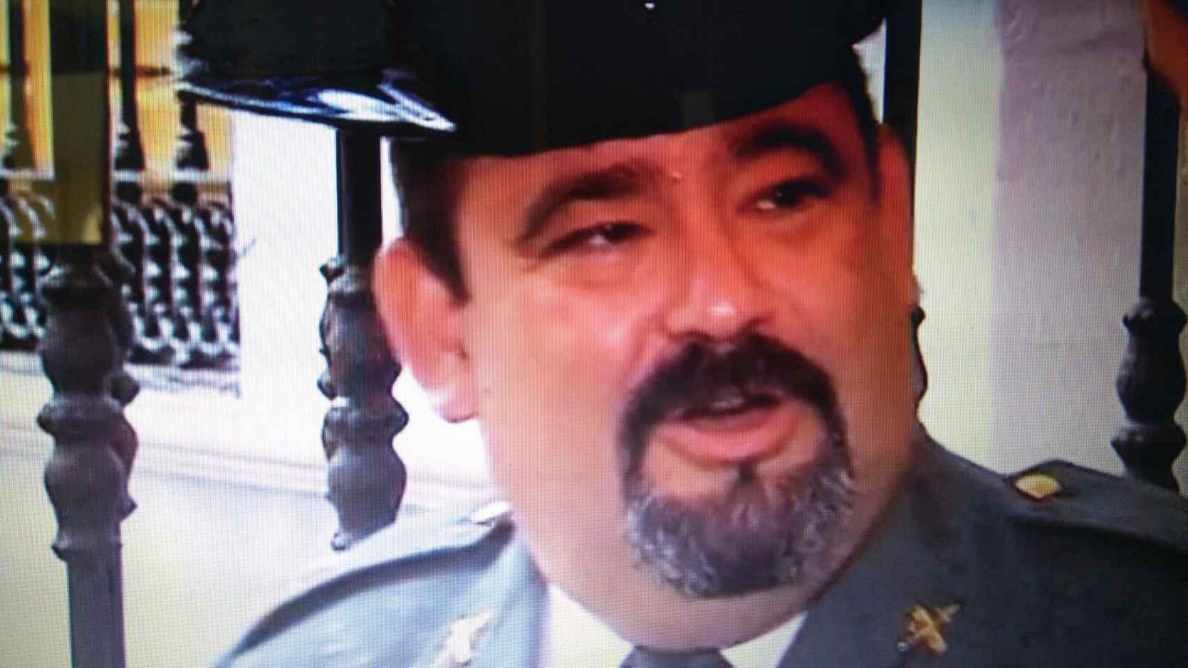 Francisco Gutiérrez, el capitán de la Guardia Civil detenido.