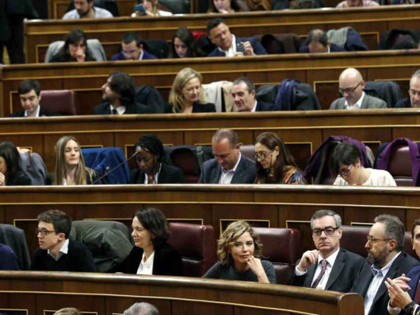 Las Cortes de la pasada legislatura se constituyeron el 13 de enero.