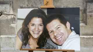 Jessica Schneider y Baptiste Salvaing, los padres de Matthieu.