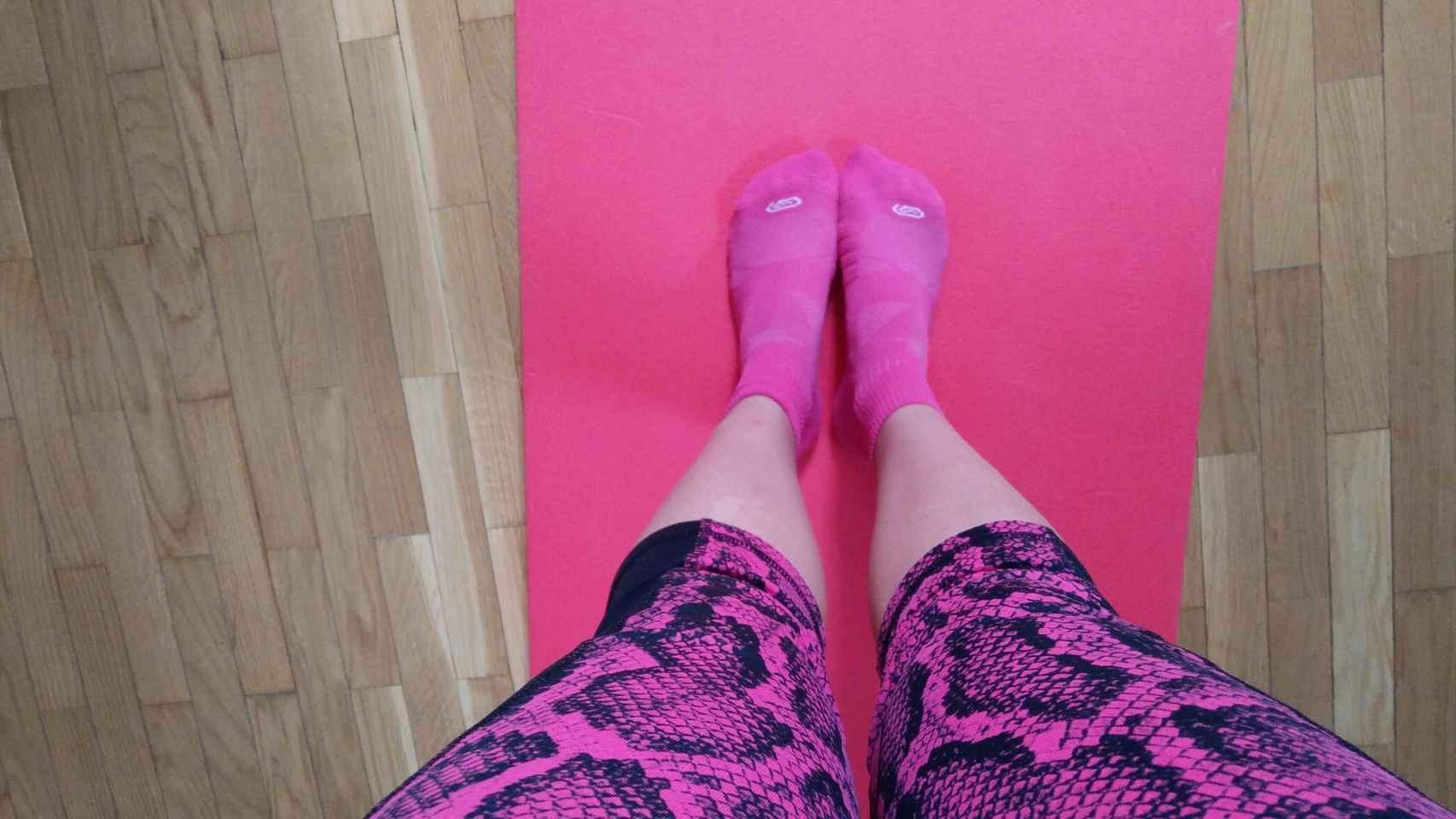 El entrenamiento de piernas de la séptima semana fue un horror