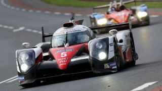 Uno de los momentos de la carrera en Le Mans.