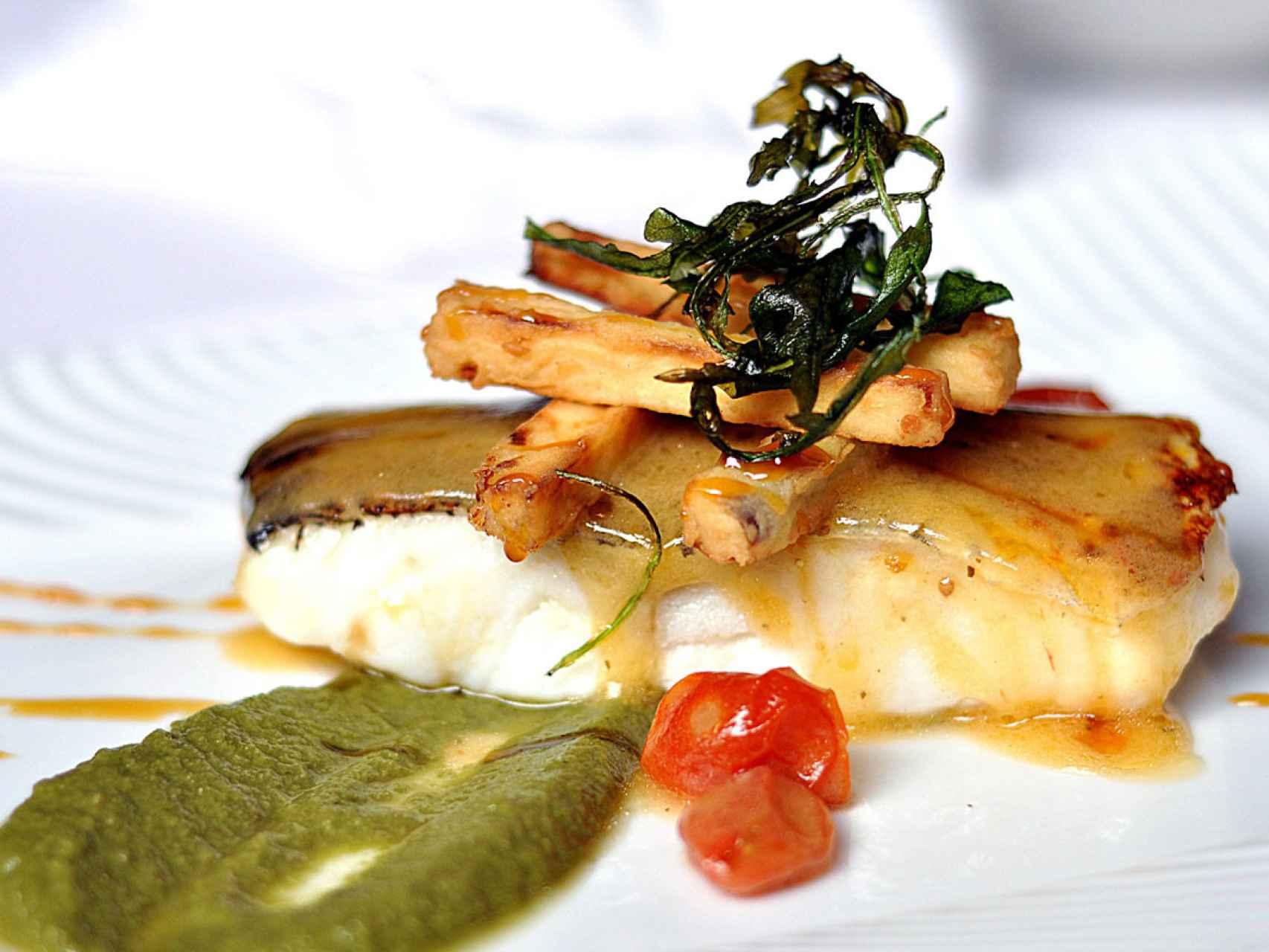 En la Taberna Gaztelupe podemos encontrar platos de primera categoría.