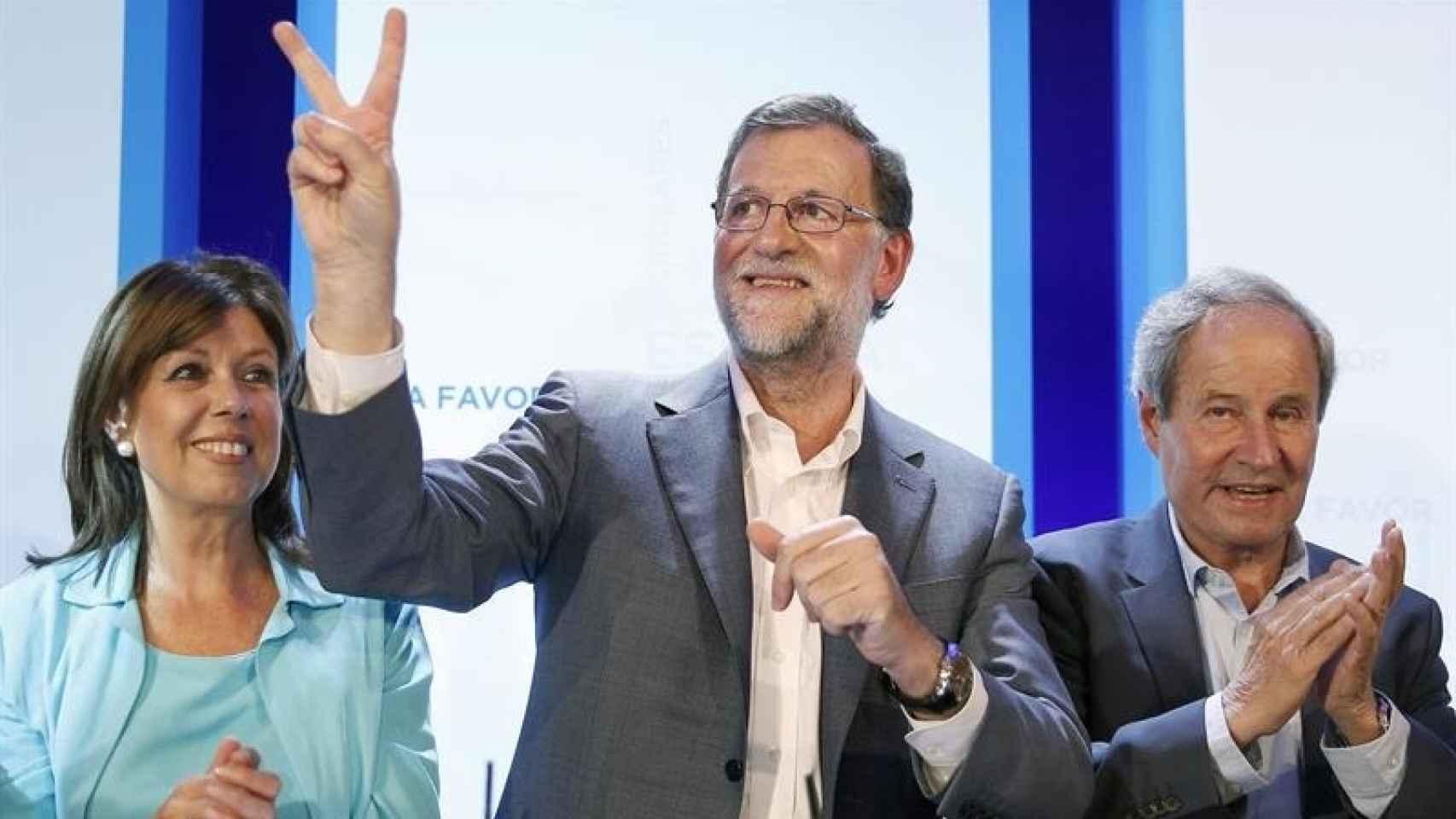 El presidente del Gobierno en funciones, Mariano Rajoy/Andreu Dalmau/EFE