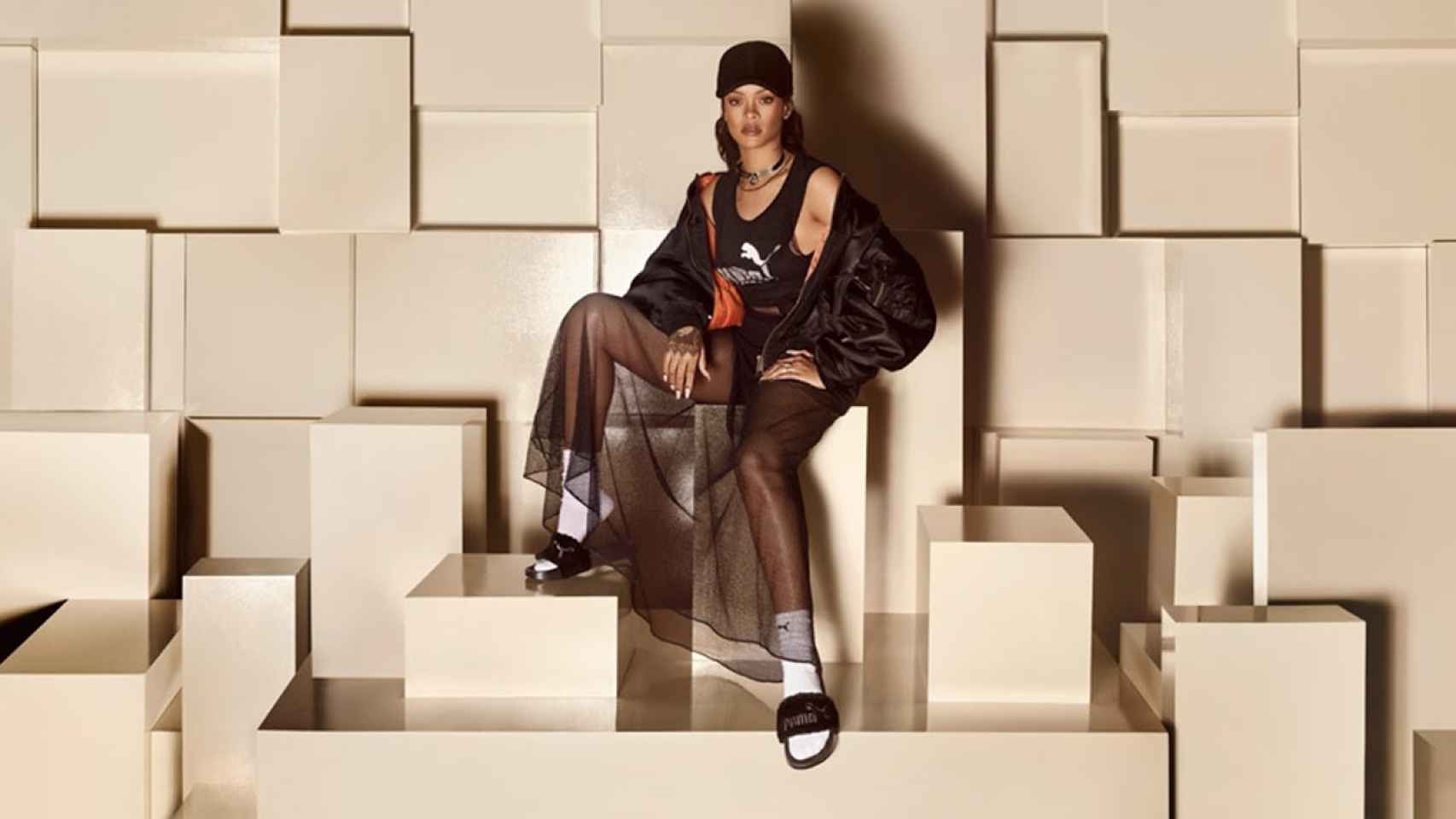 Colaboración de Rihanna con Puma para la creación de Fenty.