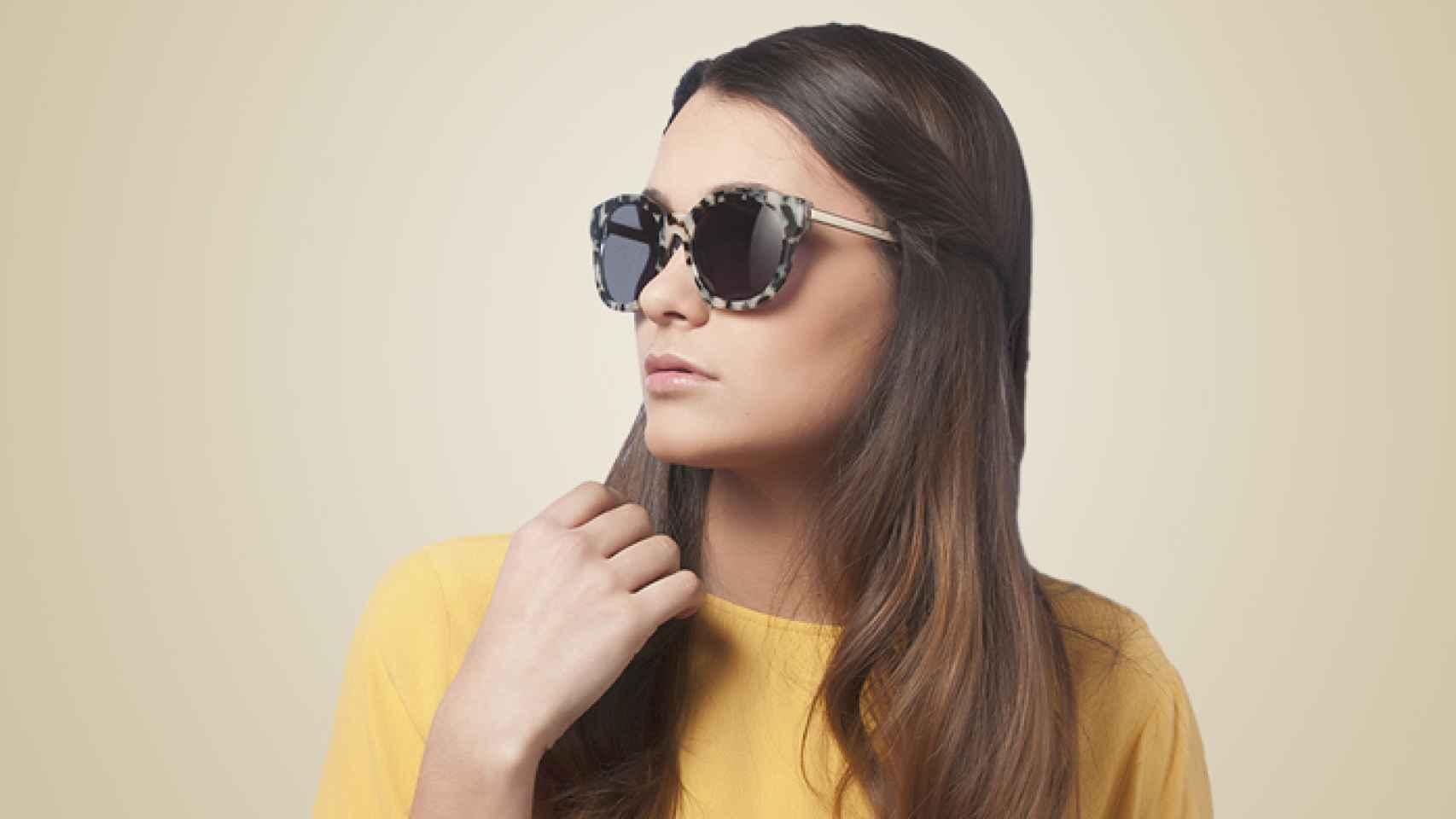 Gafas de pasta con montura moteada, de The Fab Glasses.