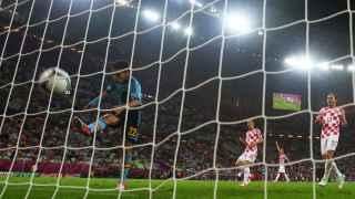 Jesús Navas fue el autor del gol de la victoria de España ante Croacia en 2012.