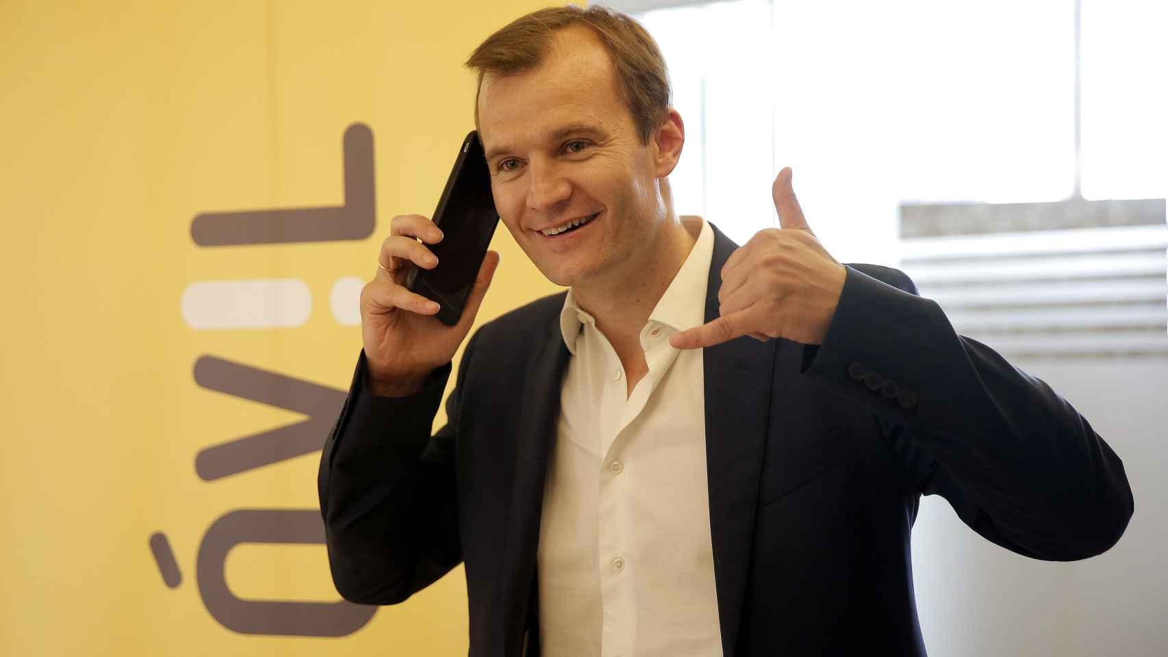 El CEO de MásMóvil, Meinrad Spenger.