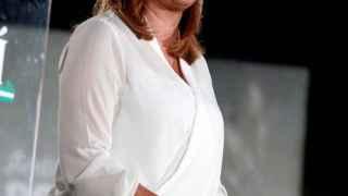 La presidenta del gobierno andaluz, Susana Díaz, durante un acto electoral.