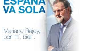 Imagen de la web RajoyPresidente.es, creada por El Mundo Today.