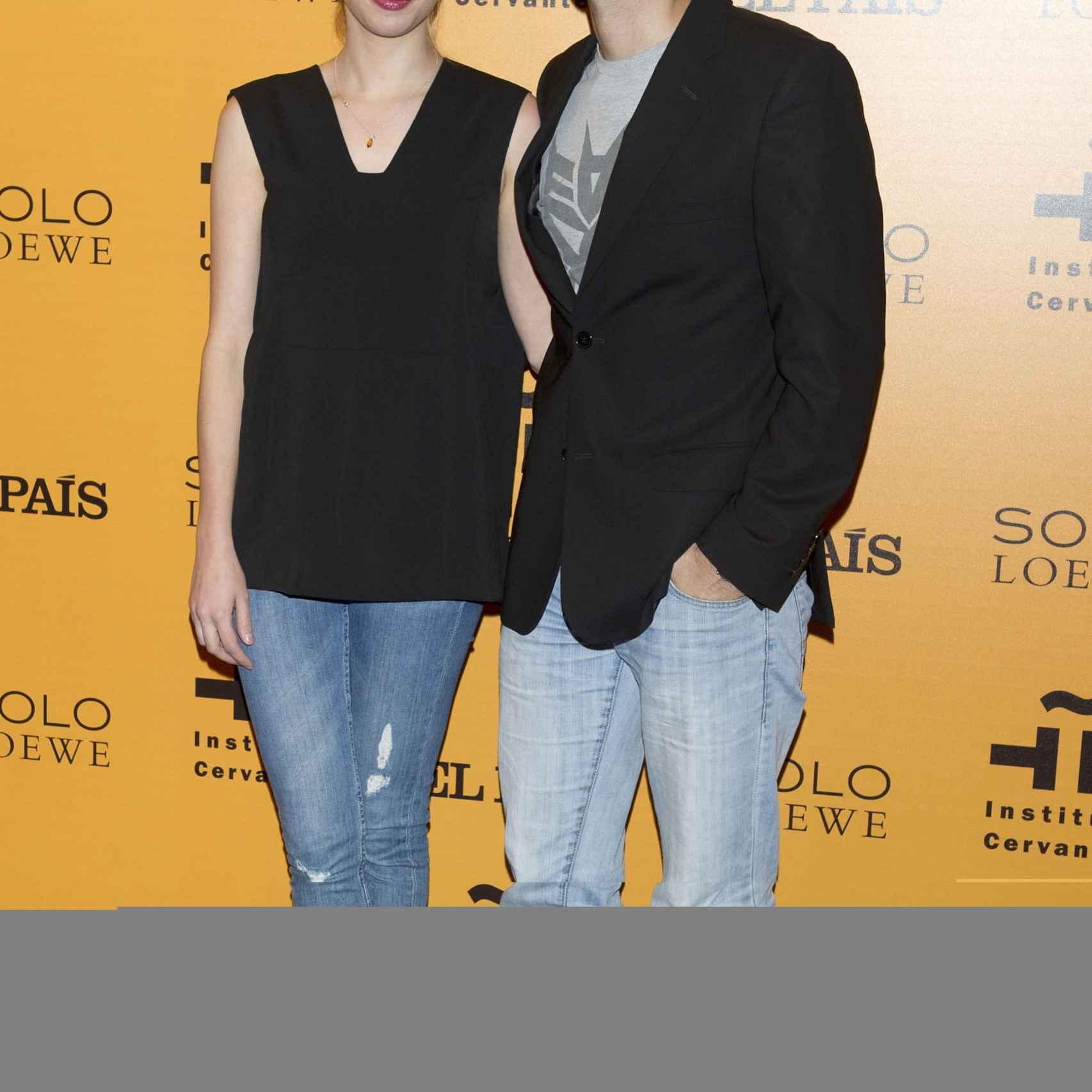 Lulu Figueroa y su novio Adrián Saavedra