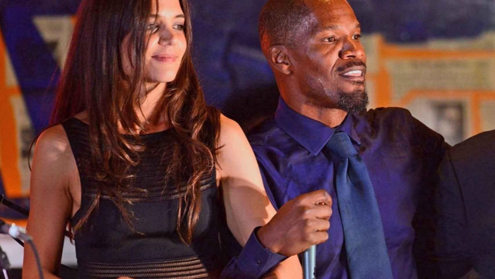 Katie Holmes y Jamie Foxx fueron pillados bailando juntos